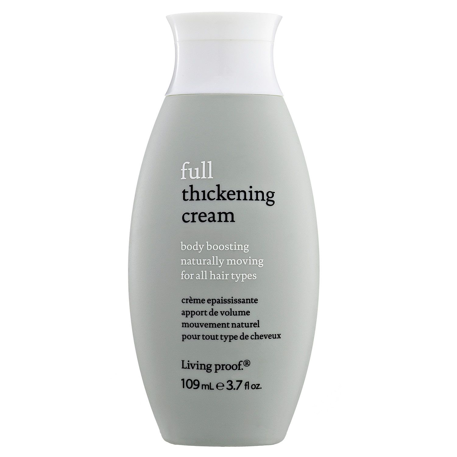 This cream helps my hair look bouncy and full without stiffness It
