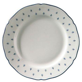 Burleigh Dinnerware Patterns Richard Ginori Royal Blue Flat Plate 20cm Ceramica Porcellana
