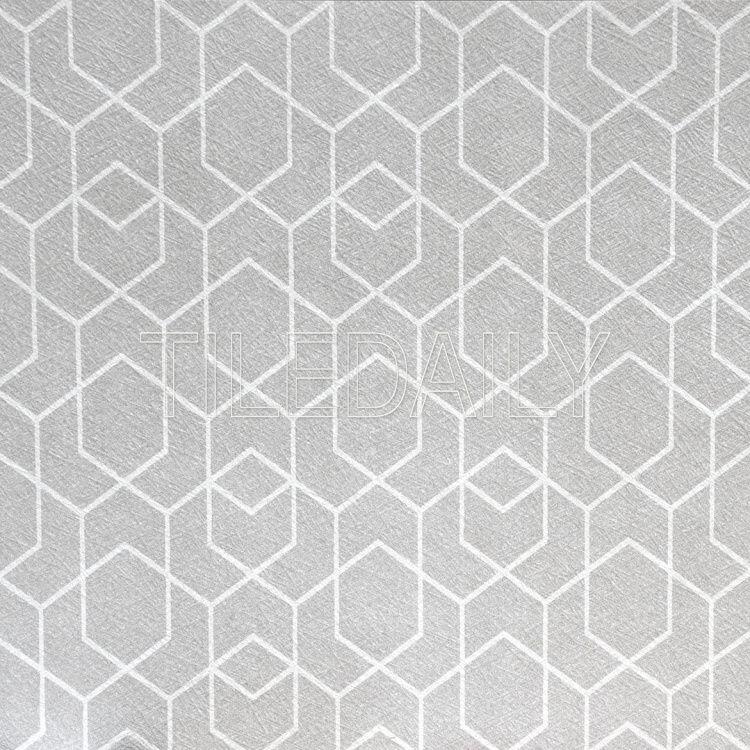 Light Grey And White Geometric Pattern Wall Ceramic Tile Geometric Tiles Tile Patterns Wall Patterns