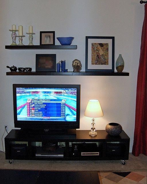 ikea floating shelves living room google search
