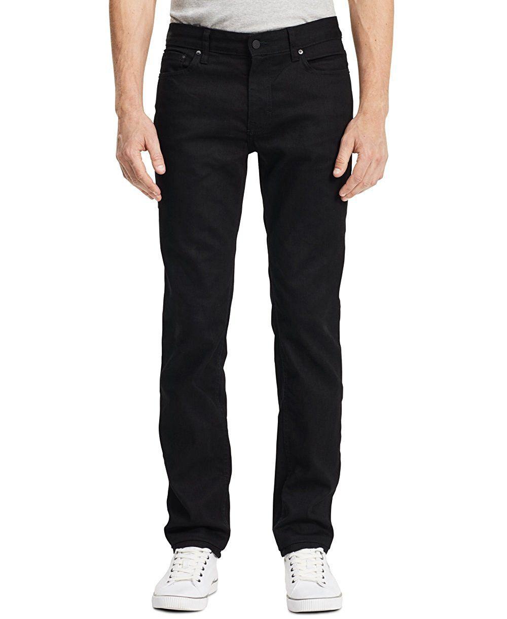 c81c3900a436e Calvin Klein Men s Slim Straight Fit Seasonal Denim Jean at Amazon Men s  Clothing store