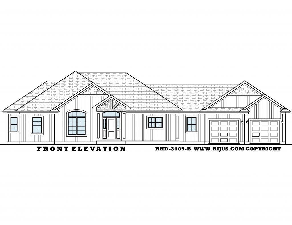 Rijus Home & Design Ltd - Ontario House Plans, Custom Home Designs ...