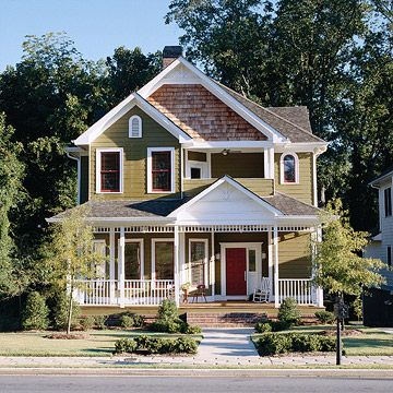 Color Schemes For Houses historic exterior house colors |  color schemes - paint color