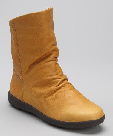 a8b2d92786e Take a look at this Golden Tan Leather Vasco Boot - Women by Cougar ...