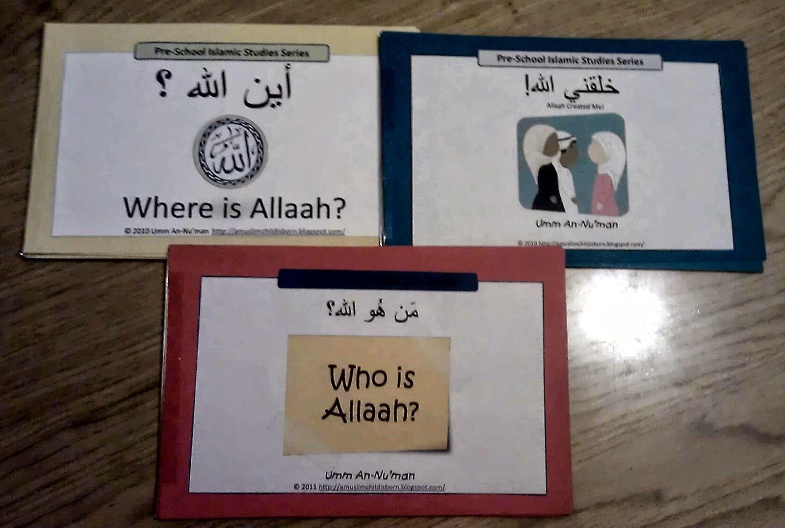 Aqeedah Mini Workbooks