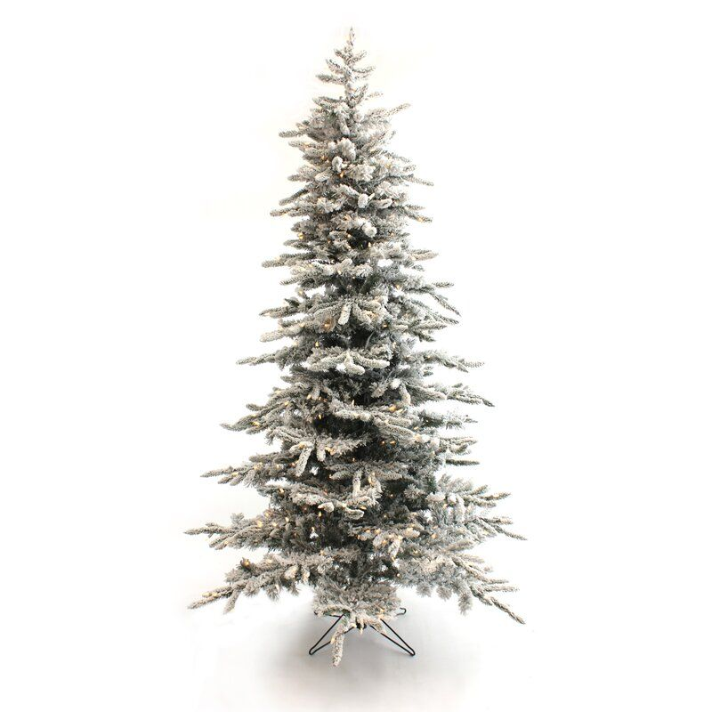 Pre Lit Slim Green Pine Artificial Christmas Tree With Clear White Lights In 2020 Artificial Christmas Tree Pre Lit Christmas Tree Christmas Tree