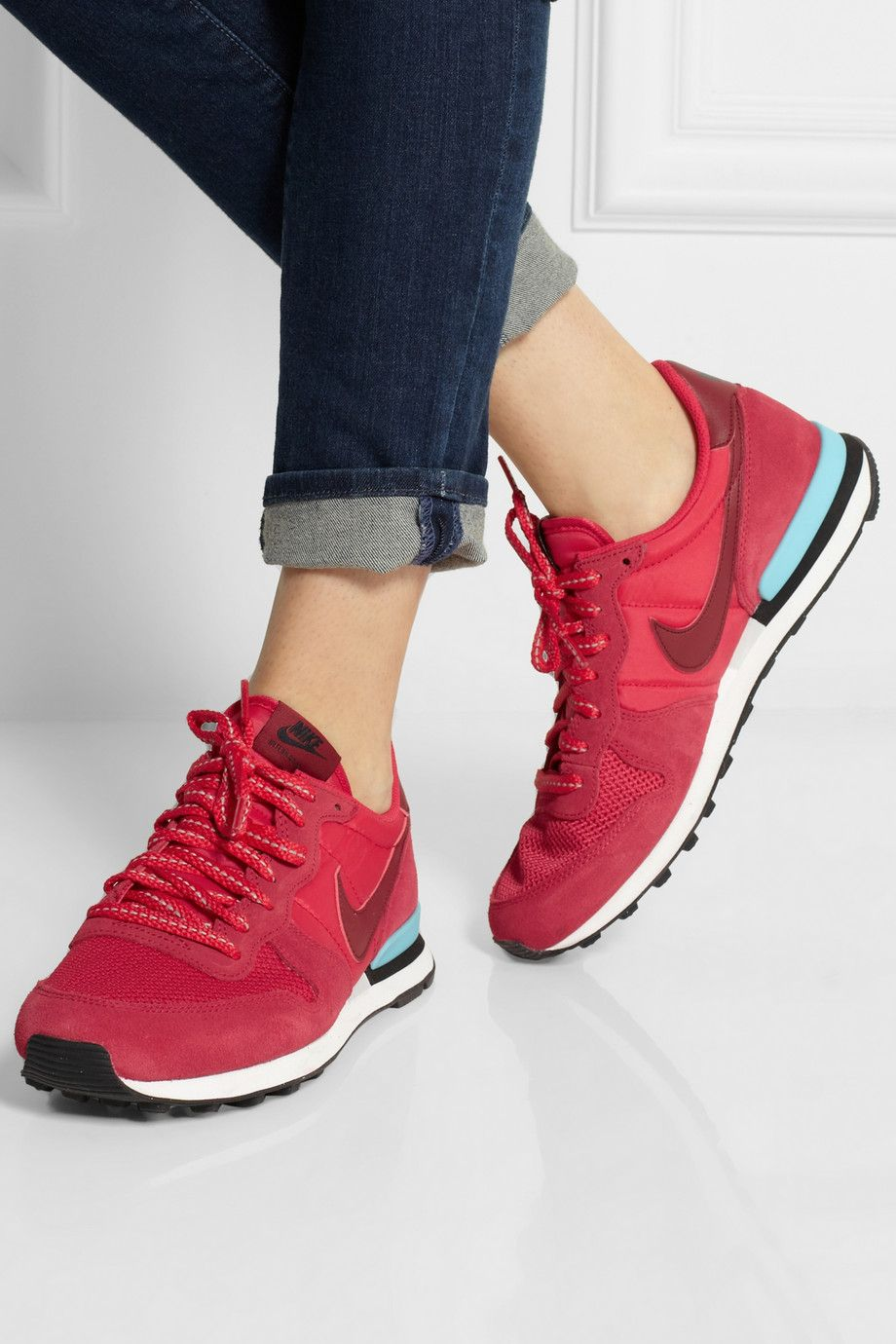 nike internationalist femme porté