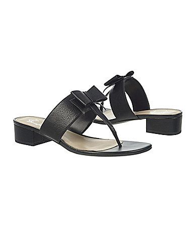 Franco Sarto Feline Bow Sandals | Dillards.com
