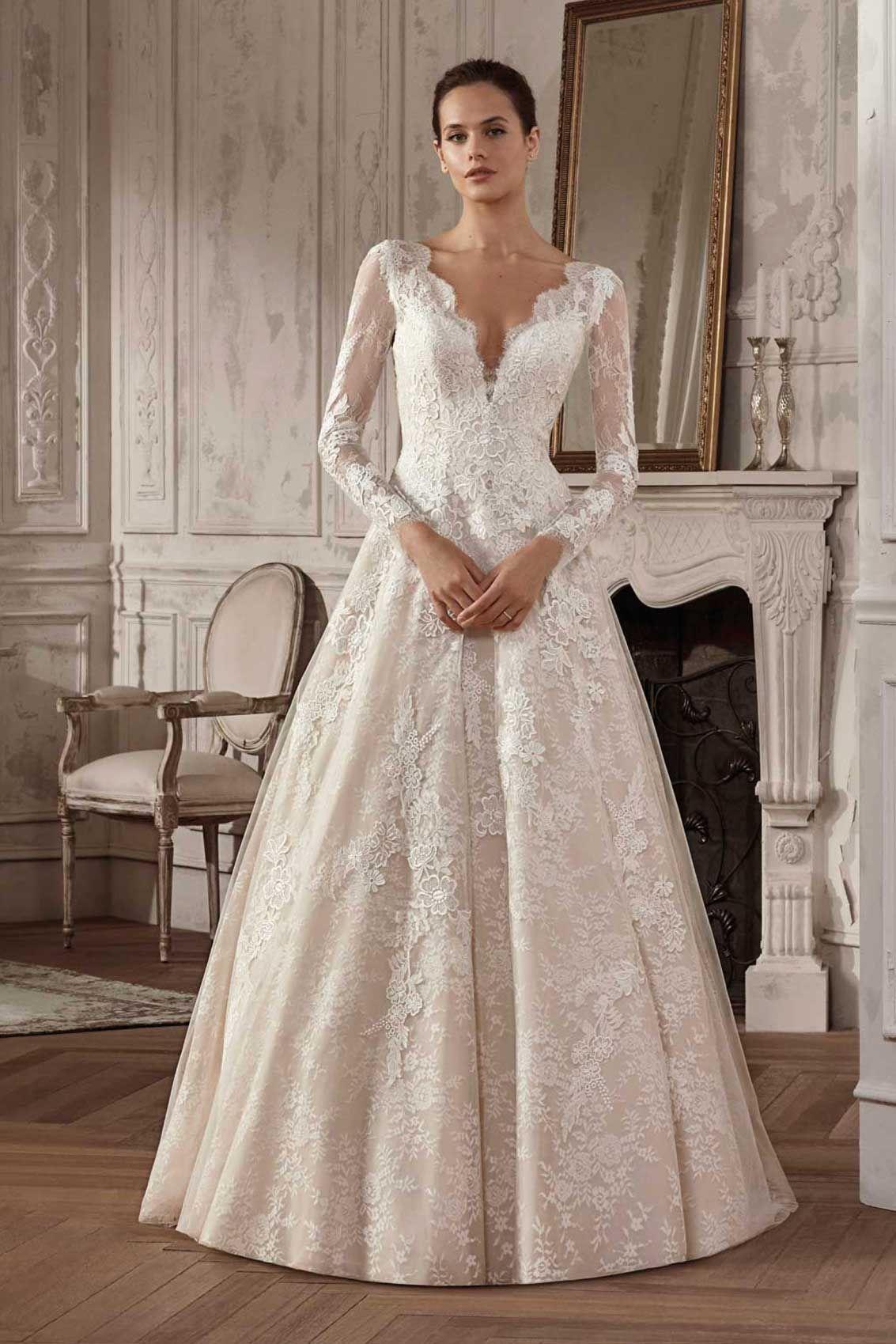 Brautmode: San Patrick Hochzeitskleid: Amposta Brautkleid Stil