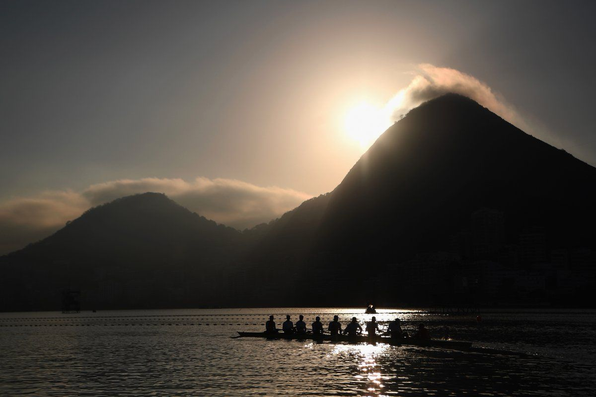 Rowers at the 2016 Olympics in Rio