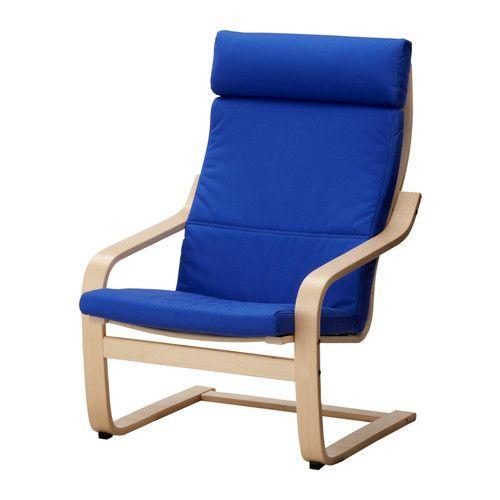 Ikea Poang Chair Living Room: Ikea Poang Chair - Blue