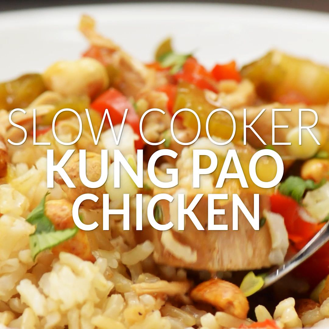 Slow Cooker Kung Pao Chicken images