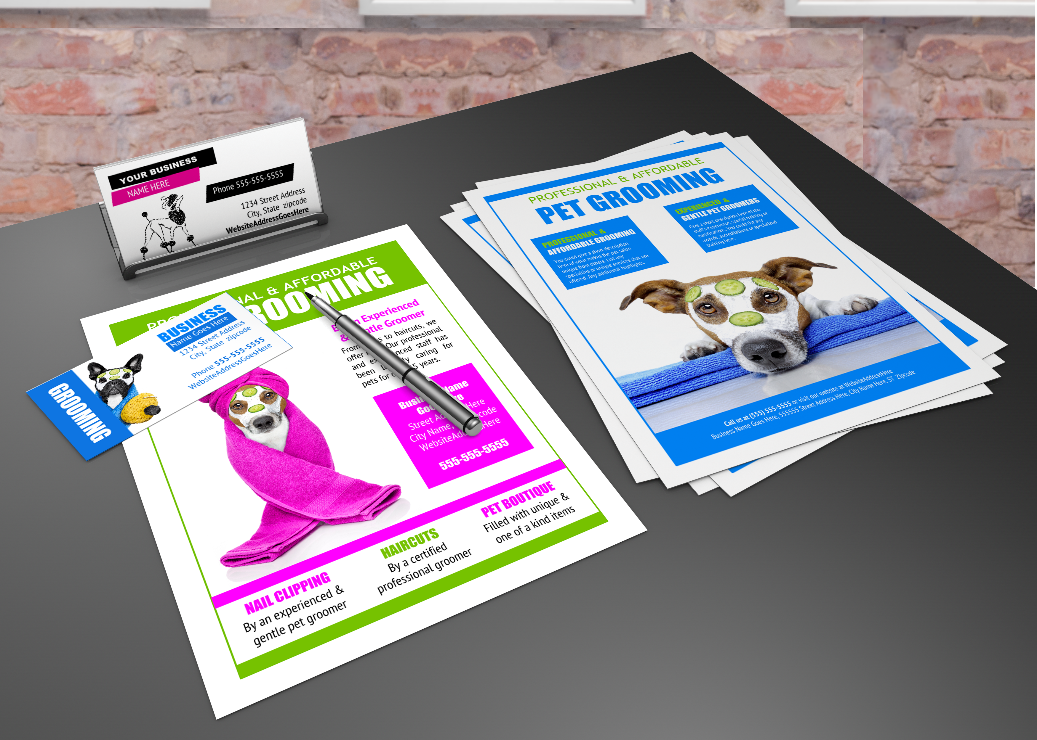 99 best Groomers Advertising Templates & Ideas images on Pinterest ...