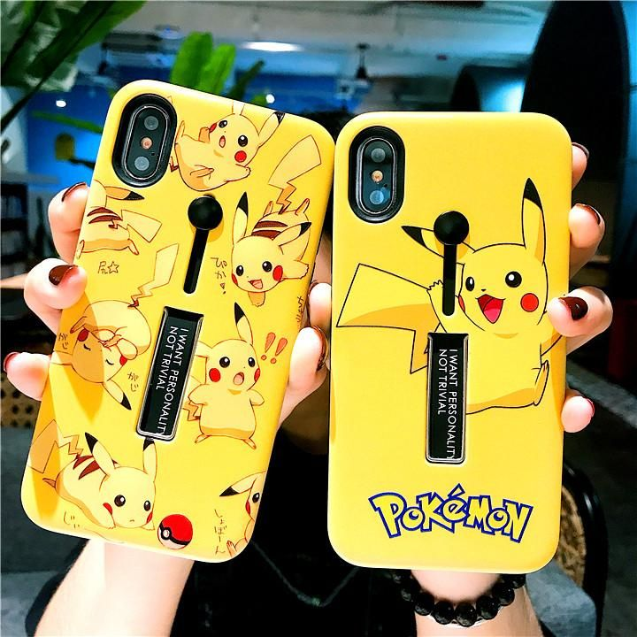 Kawaii Pikachu Phone Case for iphone 6/6s/6plus/7/7plus/8