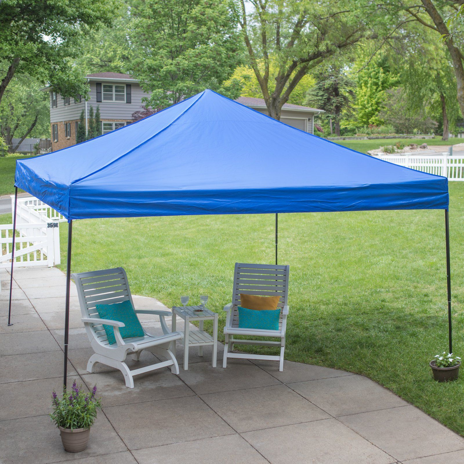 best authentic 595f8 5fac4 Coral Coast 12 x 12 ft. Pop Up Canopy Silver | Products in ...