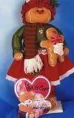Galleta de gengibre con su muñeca