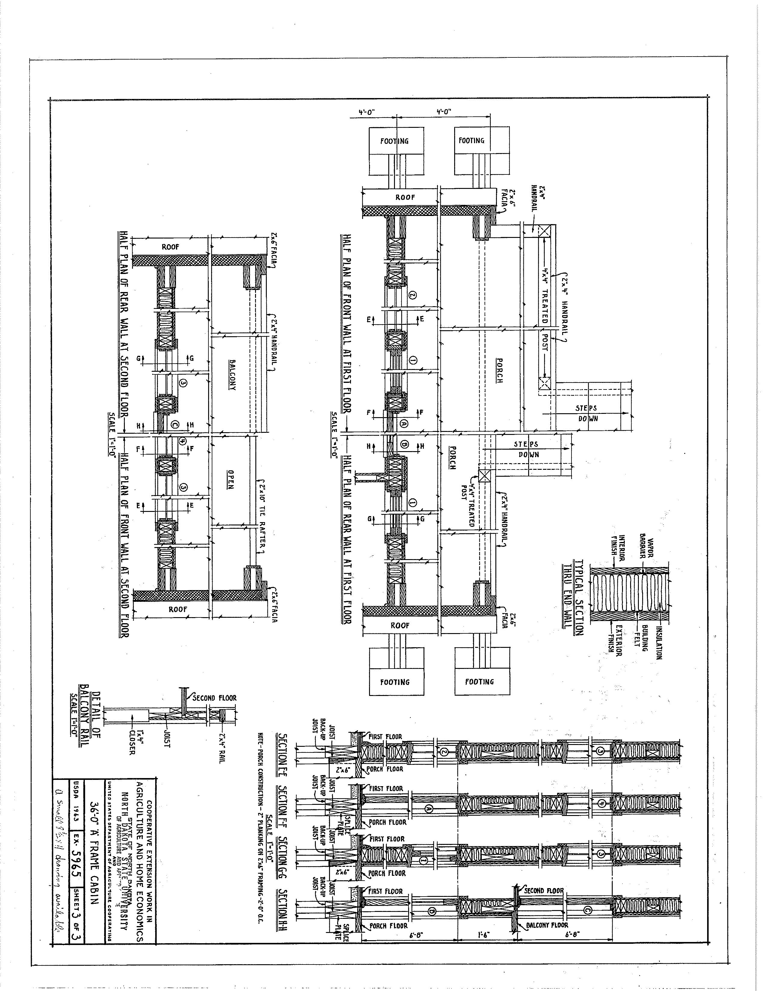 Pin On A Frame Plan