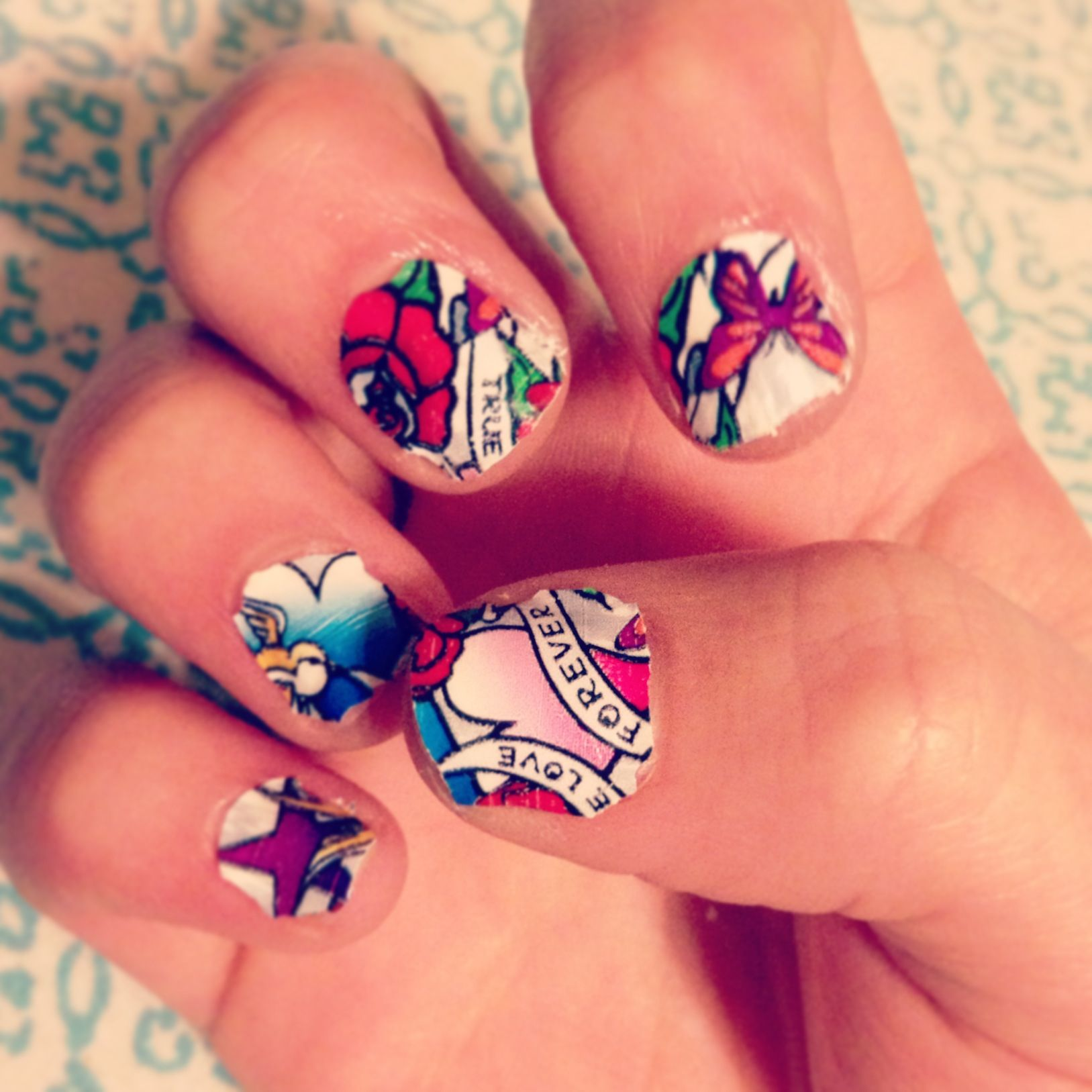 Ed Hardy Nails | Best Nail Designs 2018