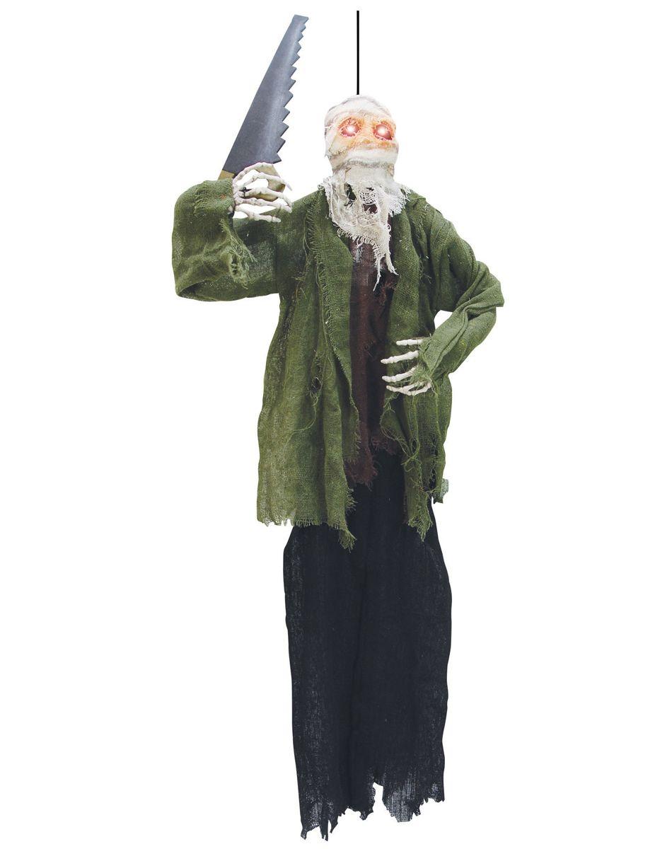 Demented Slasher Skeleton Halloween Decoration Prop NEW