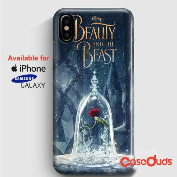 Beauty And The Beast Glass iPhone X Cases, iPhone Case, Samsung Galaxy Case 471