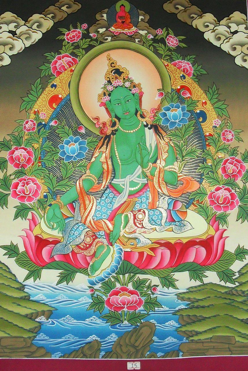 никакой воды, зеленая тара в буддизме картинки как