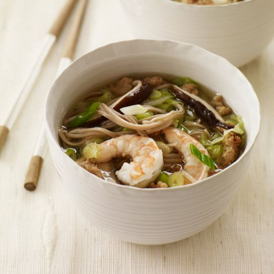 recipe: seafood soba soup [8]