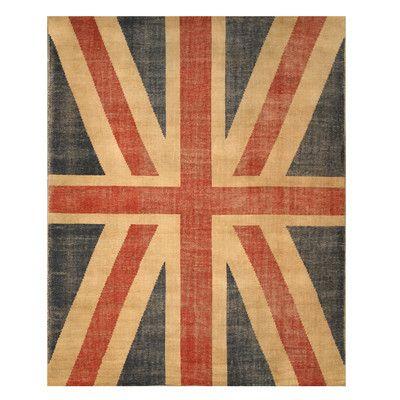 Union Jack British Flag Area Rug Wayfair