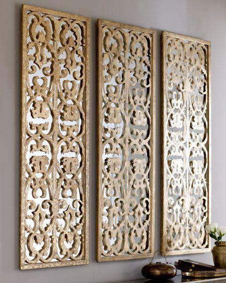 Cutout Mirror Wall Panel Wall Paneling Diy Mirror Panel Wall Mirror Design Wall