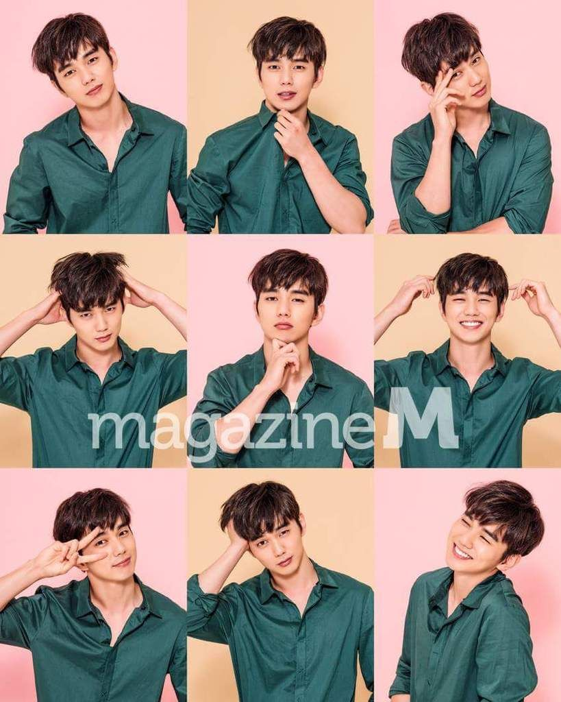 Living In Magazine yoo seung ho in magazine m and turns kbs drama the living