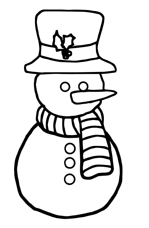 Free Holiday Coloring Pages-Great for Fine Motor Skills