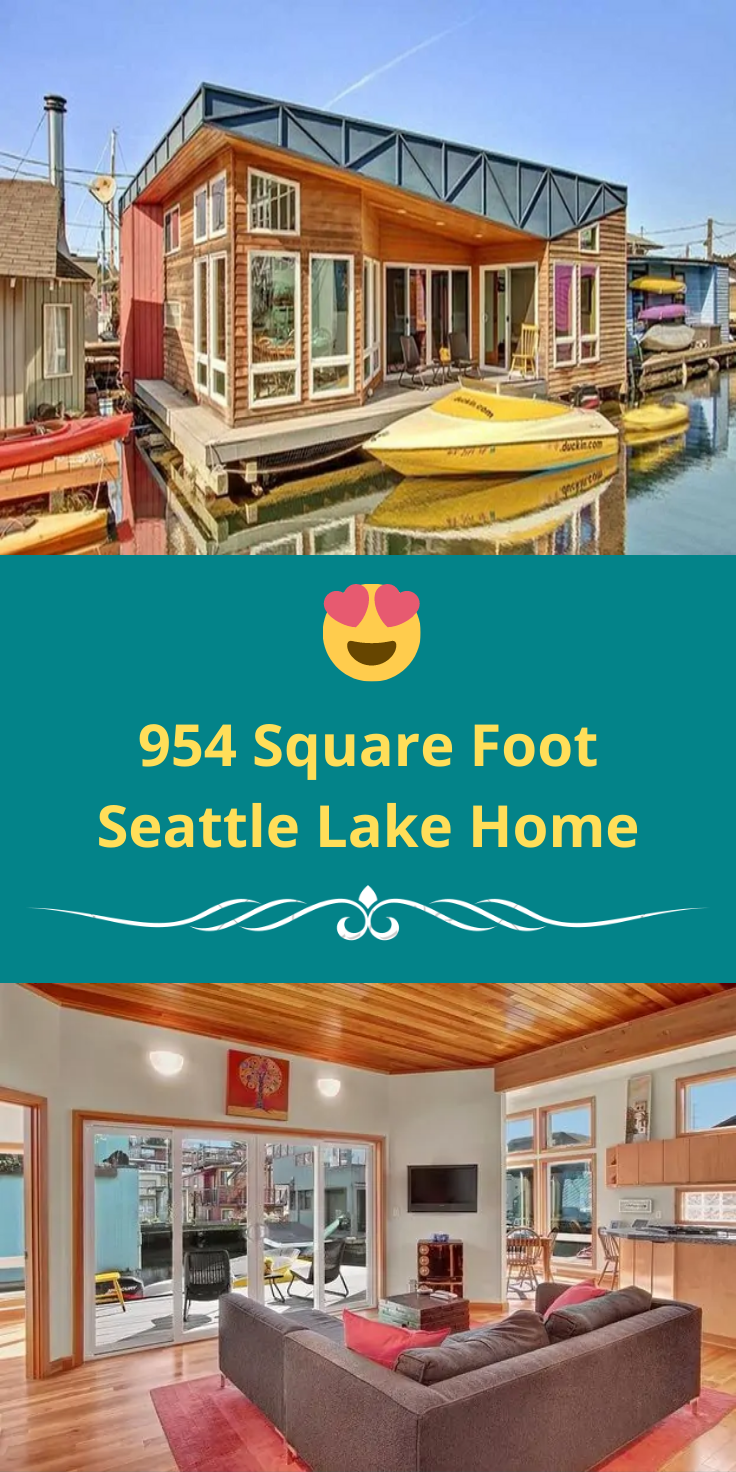 Photo of 954 Square Foot Seattle Lake Home