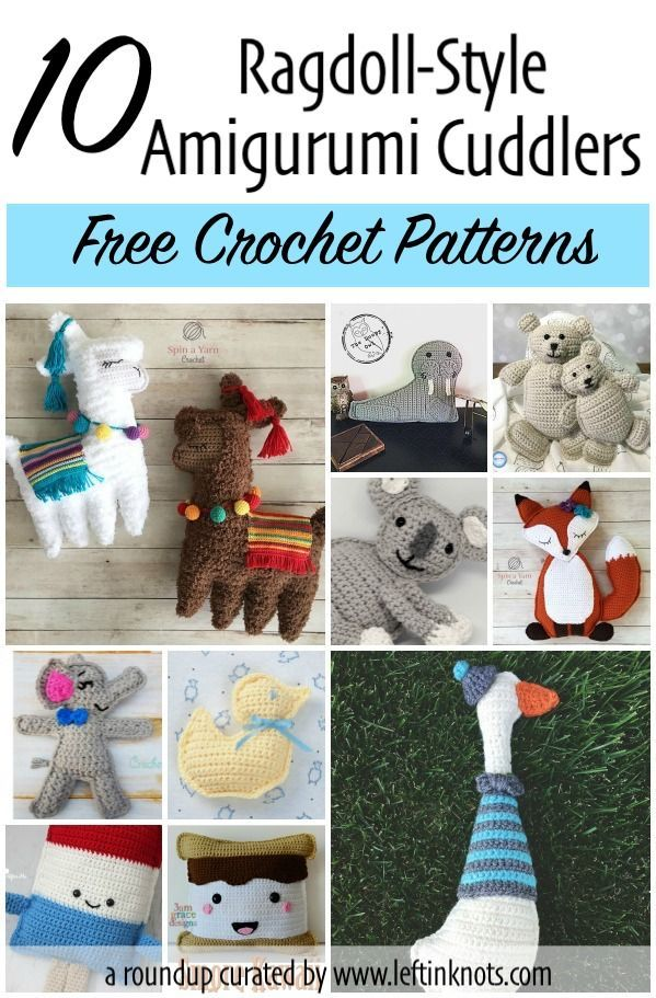 10 Free Crochet Patterns for Ragdoll Amigurumi | Cre8tion Crochet ...