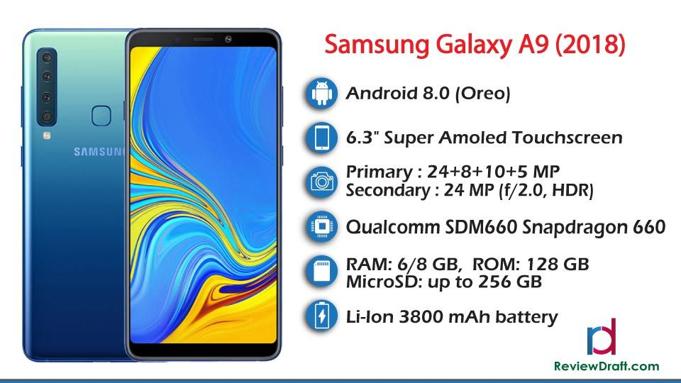 Samsung Galaxy A9 2018 Price In Bangladesh Specification