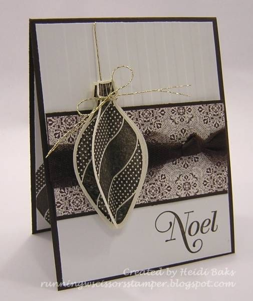 Elegant Ornament by hlw966 - Cards and Paper Crafts at Splitcoaststampers