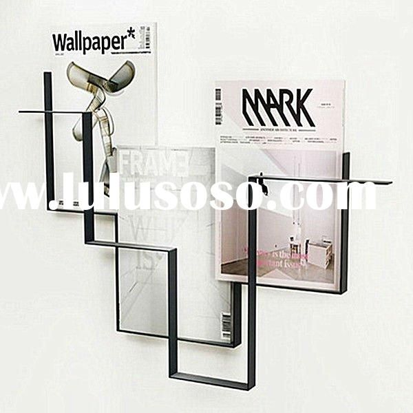Extra Deep Acrylic Wall Mount Magazine Rack Lulusoso Com With Images Wall Magazine Holder Magazine Holders Magazine Rack