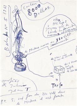 Baluba no. 5 by Jean Tinguely