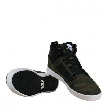 f4424aaf48ec Supra Bandit S39031 Mens Mid Top Trainers AW12 Camo White available from  www.hypedirect