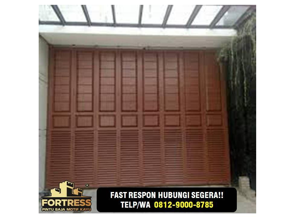 0812-9000-8785, Solo Brown Garage Door