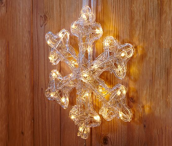 Ľadový kryštál s LED