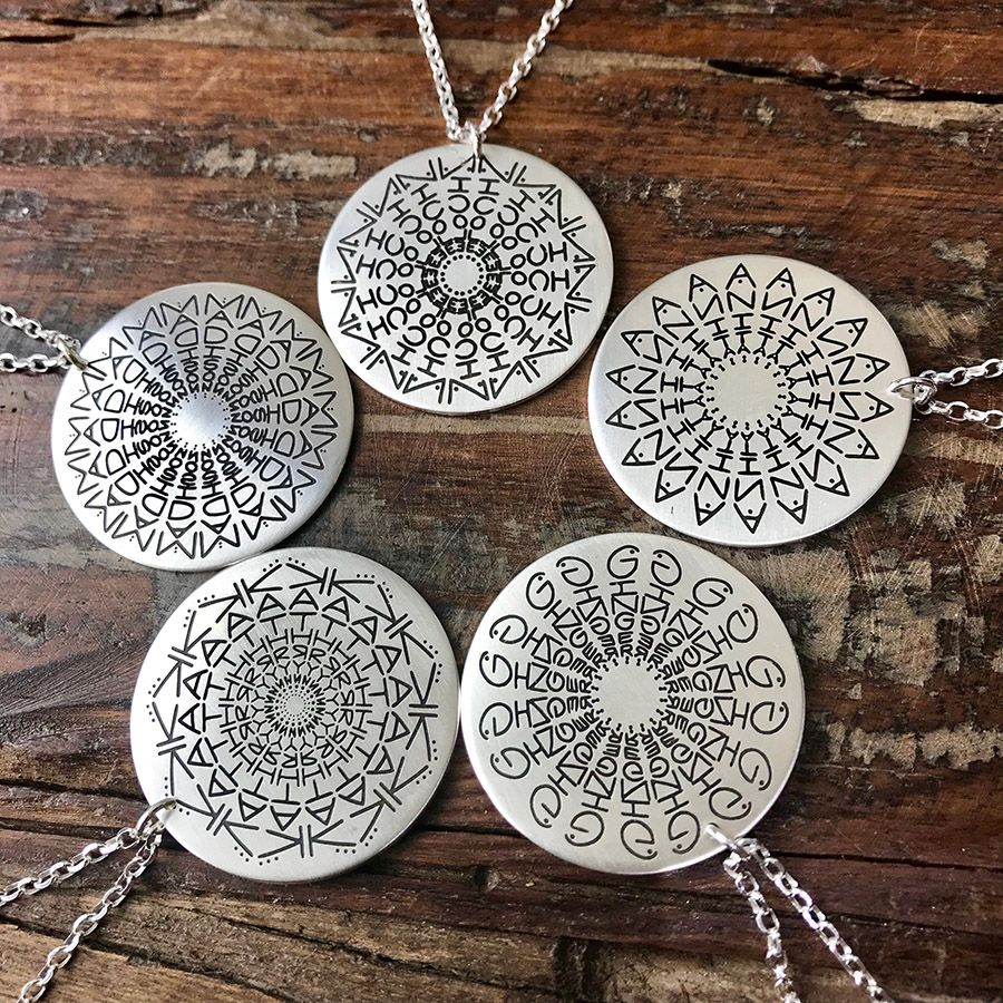 953c991f4b908 Namedala® - Mandala Name Necklace | Gifts | Name necklace, Custom ...