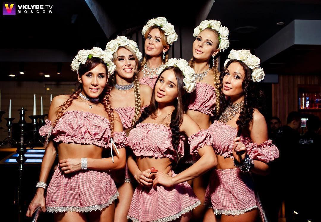 работа для девушек в москве танцовщицей