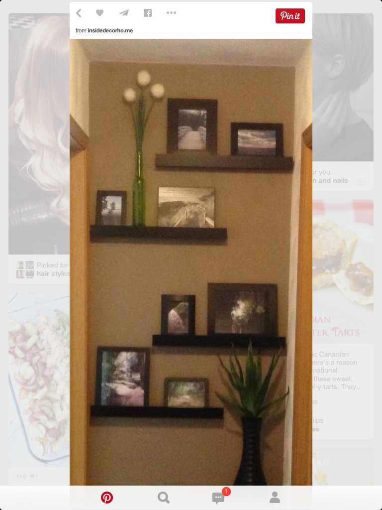 End of hallway decor  Pin by Chris Booth on Crafts  Pinterest  Craft