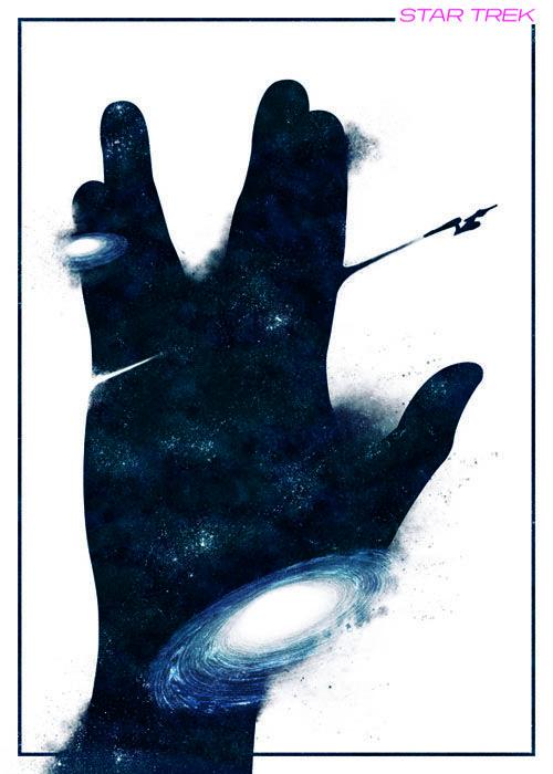 Star Trek - movie poster - Boris Lechaftois