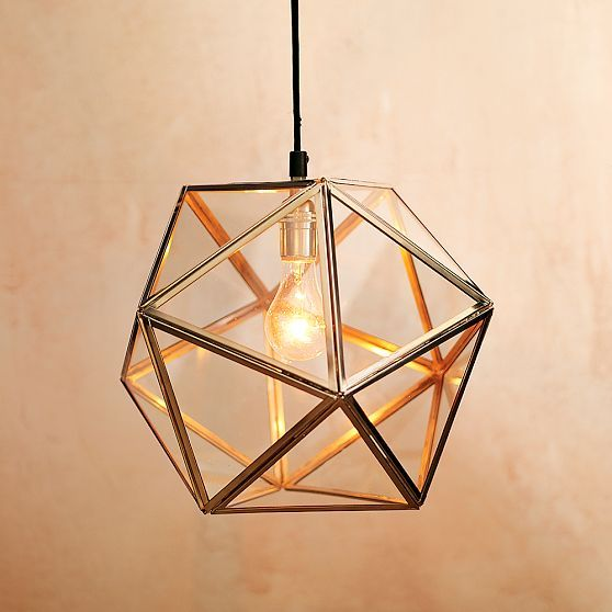 DESIGN ON SALE DAILY: A MULTIFACETED PENDANT LIGHT | Pendant ...