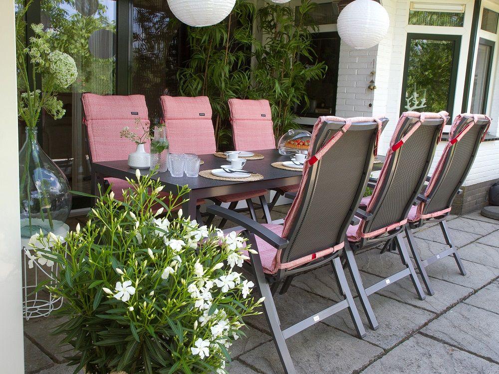 Dunne Auflagen Fur Hochlehner Gartenmobel Auflagen Rot Auflagen Hochlehner Lounge Kissen Gartenkissen