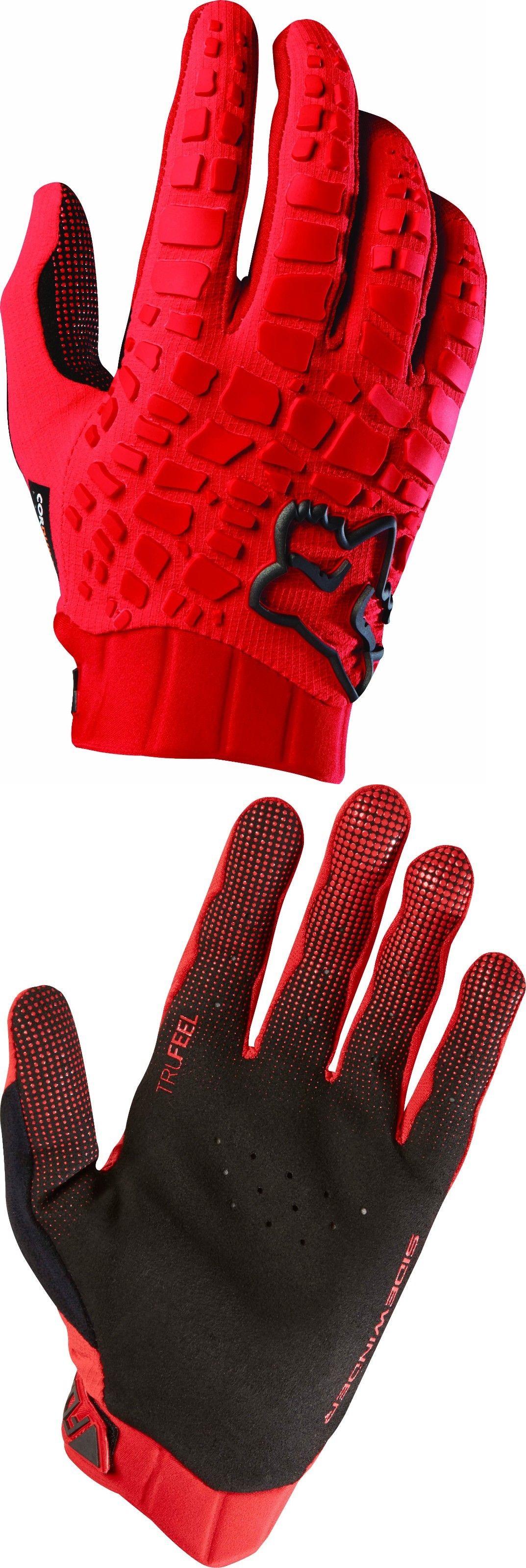 Gloves fox racing sidewinder glove red ue buy it now