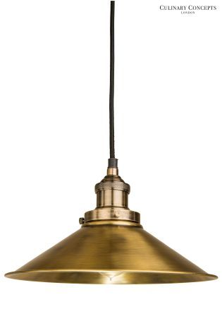 buy culinary concepts antique brass prohibition pendant from the