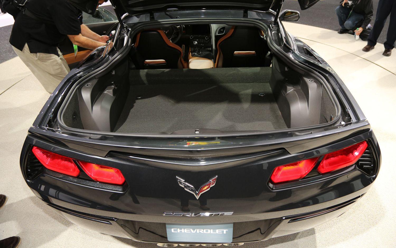 Image result for 2019 corvette stingray trunk open | Corvette page | Corvette, Vehicles, Car