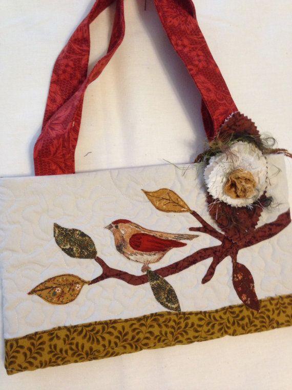 Bag purse tote book bag art bag travel bag fused by SuzanneInOhio