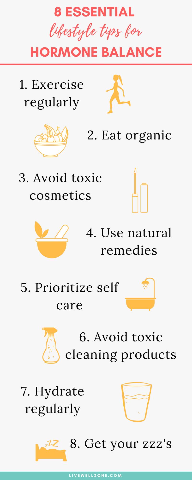 Photo of 8 wichtige Lifestyle-Tipps für einen natürlichen Hormonhaushalt – Live Well Zone